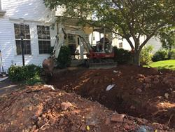 Click to view album: Water Line Replacement